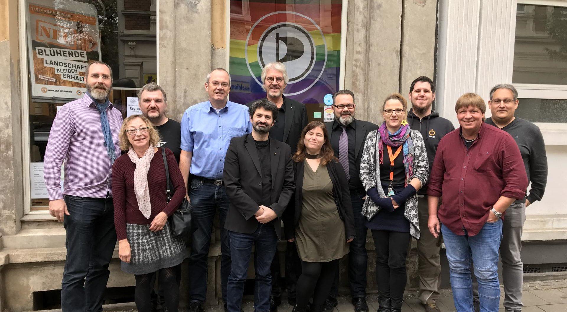 Gruppenfoto vom KPT 2018.2 mit Gästen vom Landesvorstand