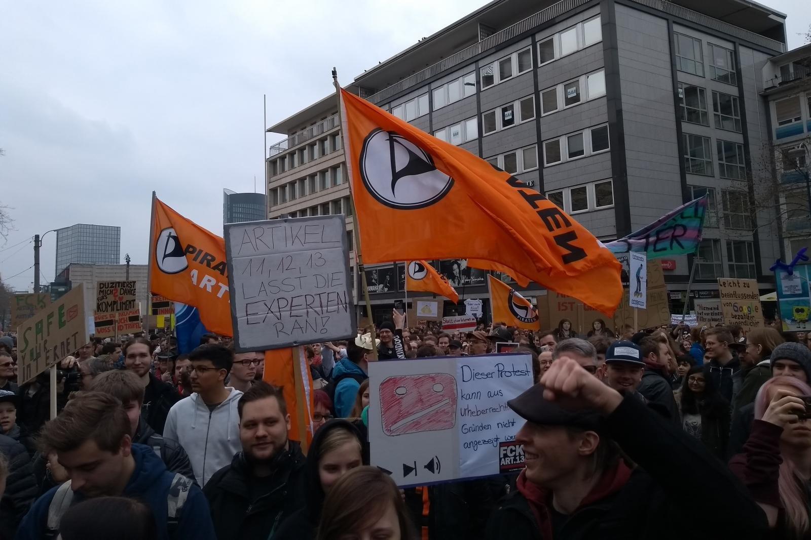 #saveYourInternet-Demo in Dortmund