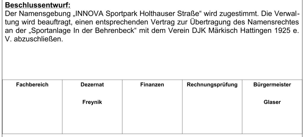 Bürgermeister Glaser empfiehlt Unterzeichnung des Vertrags inklusive der Maulkorbklausel gegenüber Ruhrkanal NEWS